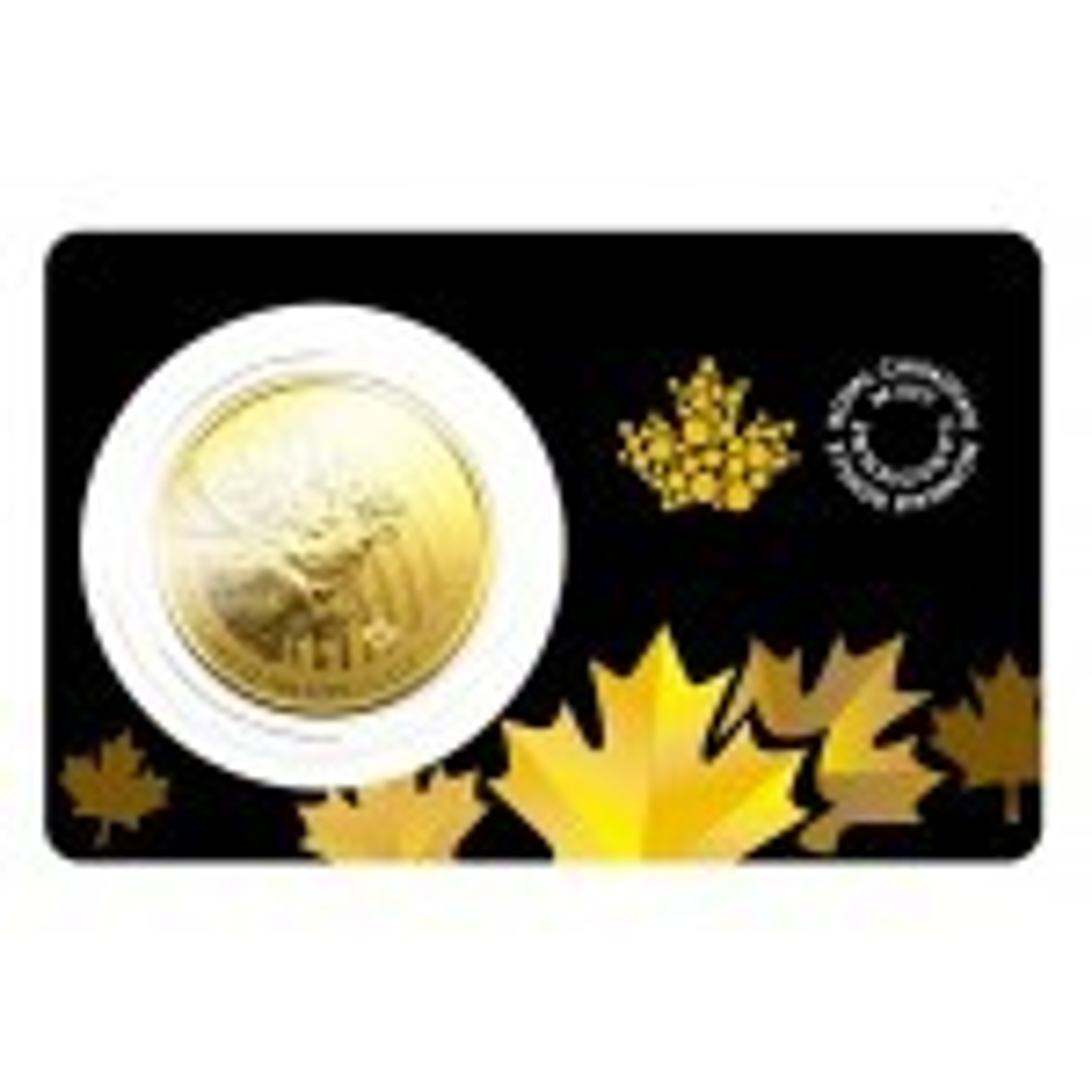 1 Troy ounce gouden munt Canadian Moose 2019