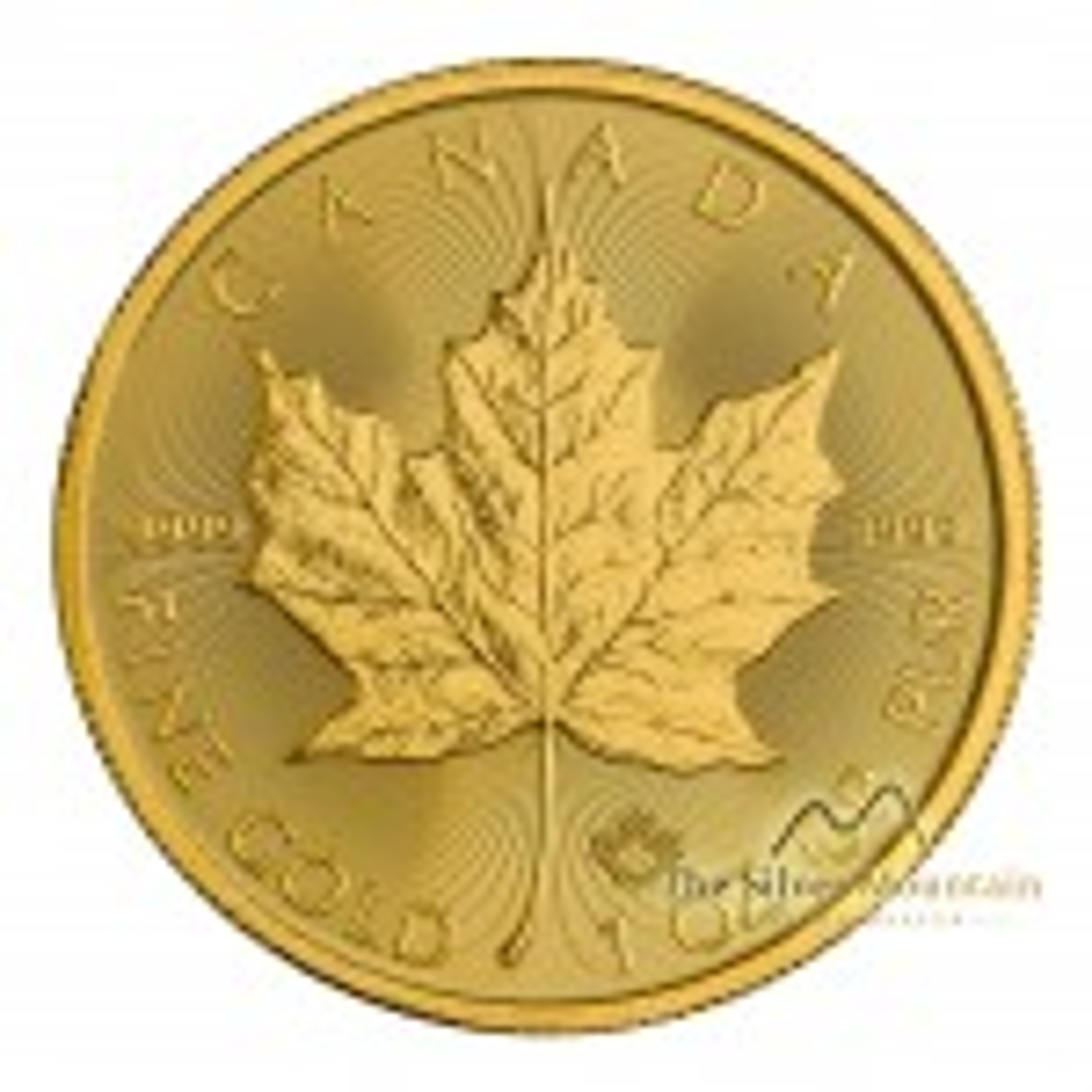 Gouden Maple Leaf munt