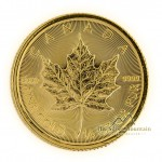 1/4 Troy ounce gouden munt Maple Leaf 2018