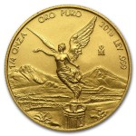 1/4 Troy ounce gouden munt Mexican Libertad 2018