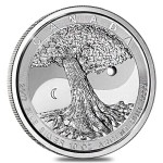 10 Troy ounce zilveren Tree Of Life munt