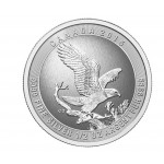 1/2 Troy ounce zilveren Bald Eagle munt 2015