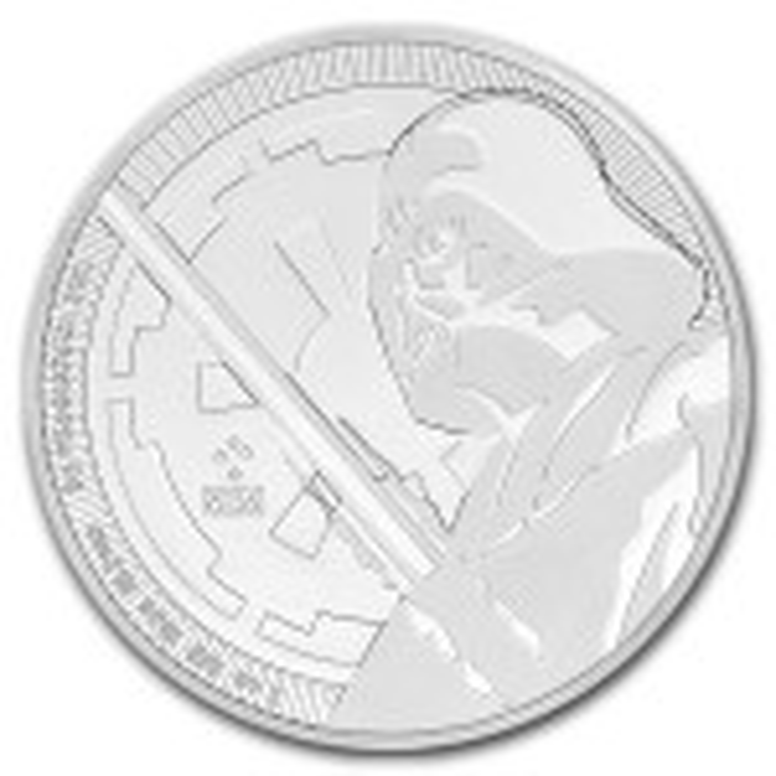 1 Troy ounce zilveren munt Star Wars Darth Vader 2018