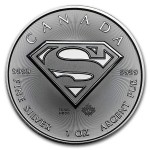 1 Troy ounce zilveren Superman munt 2016