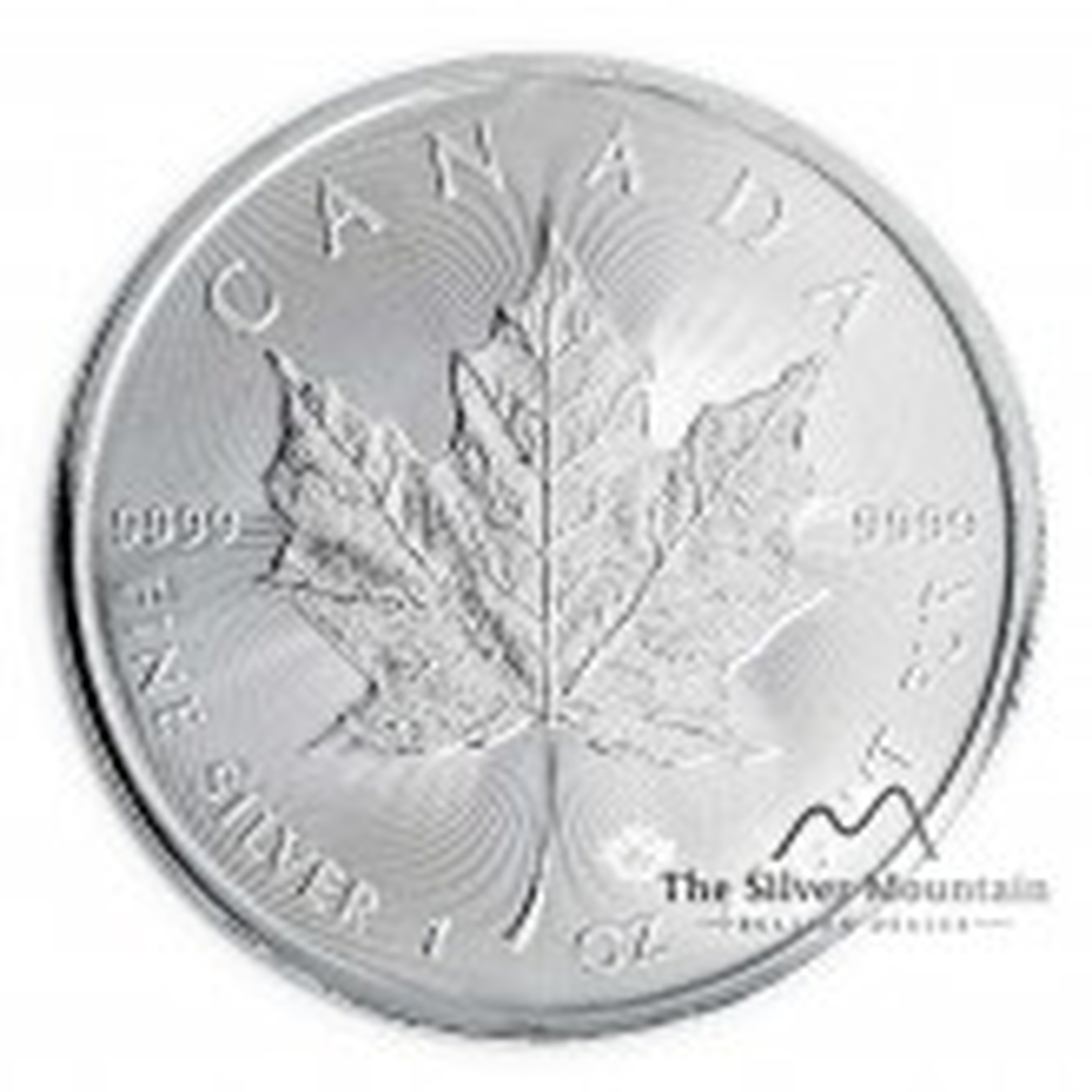 Nieuwe zilveren Maple Leaf munt 2020