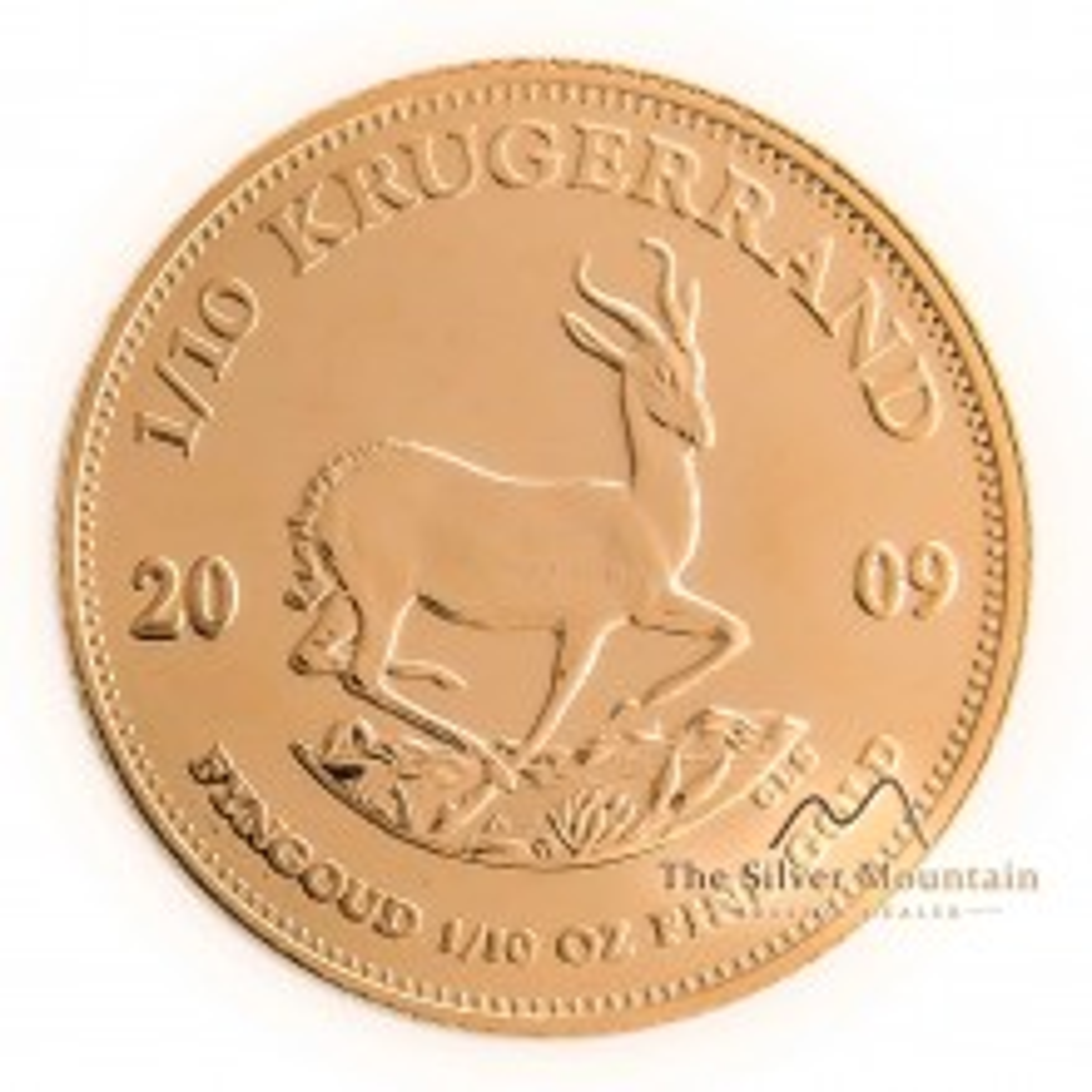 1/10 troy ounce gouden Krugerrand munt