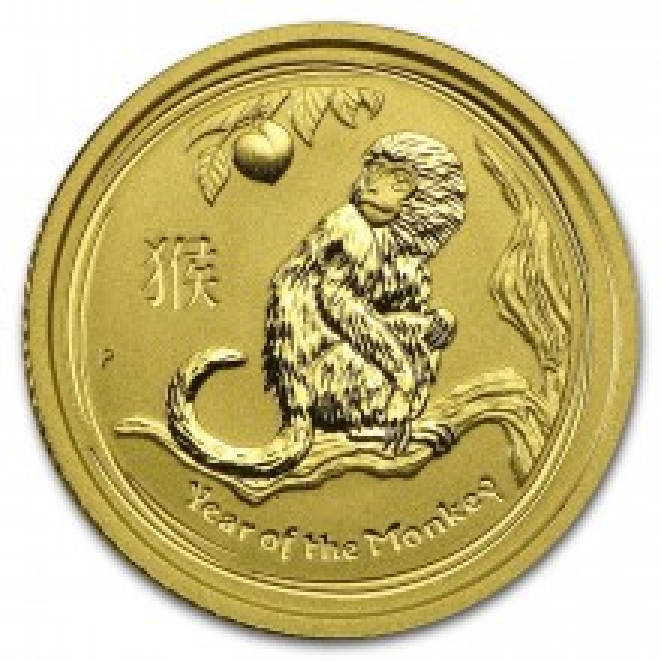 1/10 troy ounce gouden Lunar munt 2001
