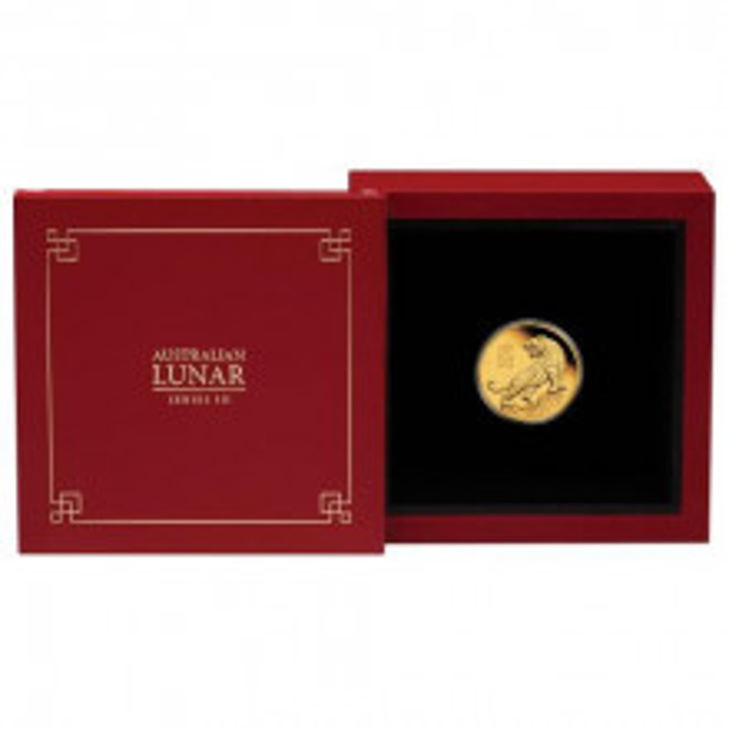 1/10 Troy ounce gouden munt Lunar 2022 Proof