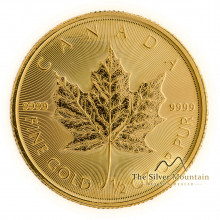1/2 troy ounce gouden Maple Leaf munt 2021