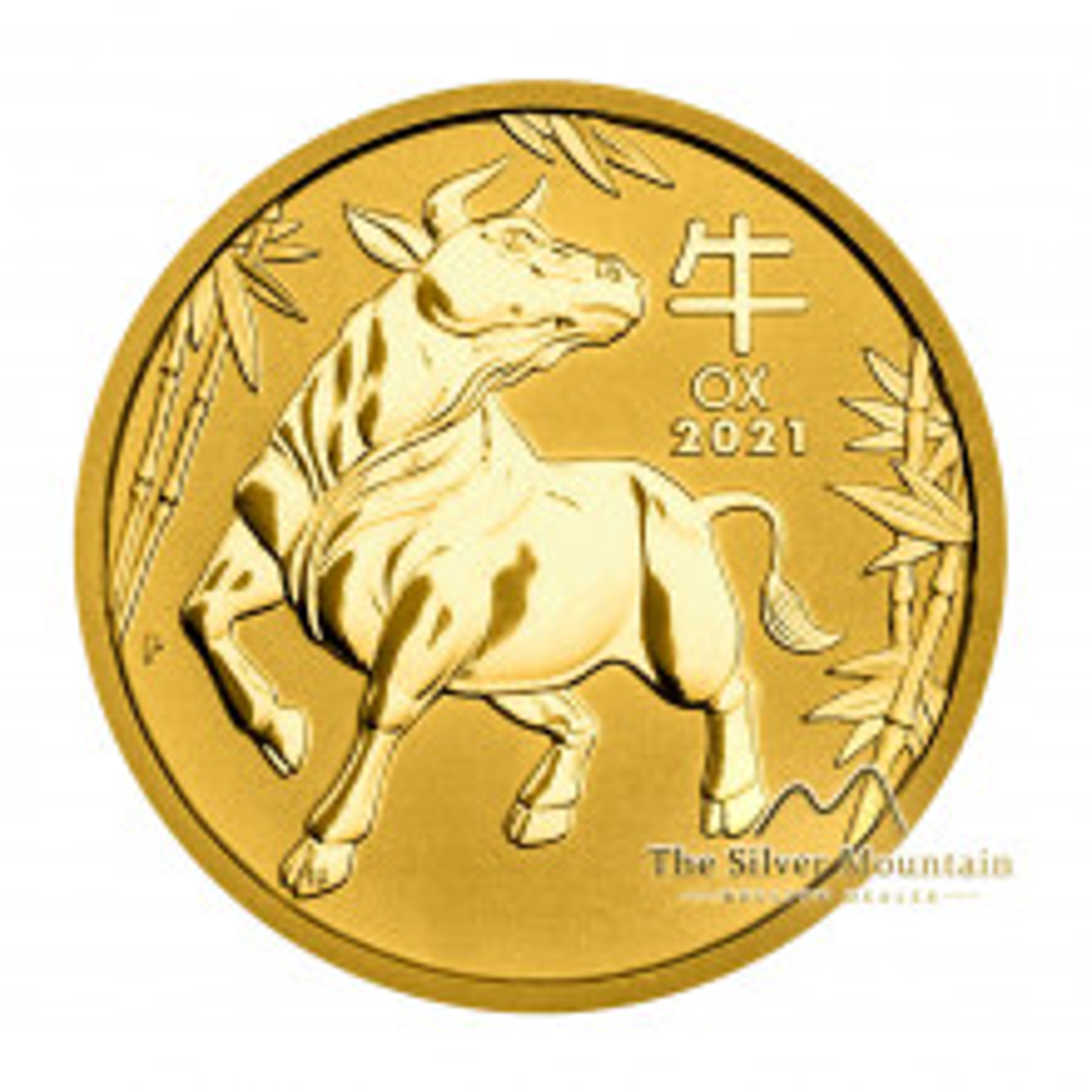 1/2 Troy ounce gouden munt Lunar 2021