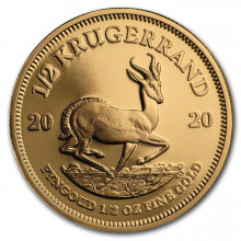 1/2 Troy ounce gouden munt Krugerrand Proof