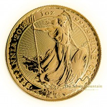 1 Troy ounce gold coin Britannia 2020