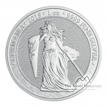 1 Troy ounce zilveren munt Germania 2019