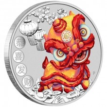 1 Troy ounce zilveren munt Chinese New Year 2020