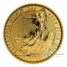 1 troy ounce gold Britannia coin