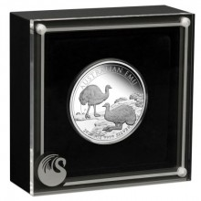 1 Troy ounce zilveren munt Emoe 2020 Proof
