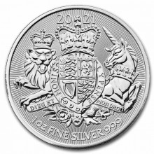 1 Troy ounce zilveren munt Royal Arms 2021
