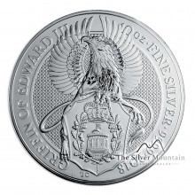 10 Troy ounce zilveren munt Queens Beasts Griffin