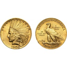 Gouden munt 10 Dollar Indian Head