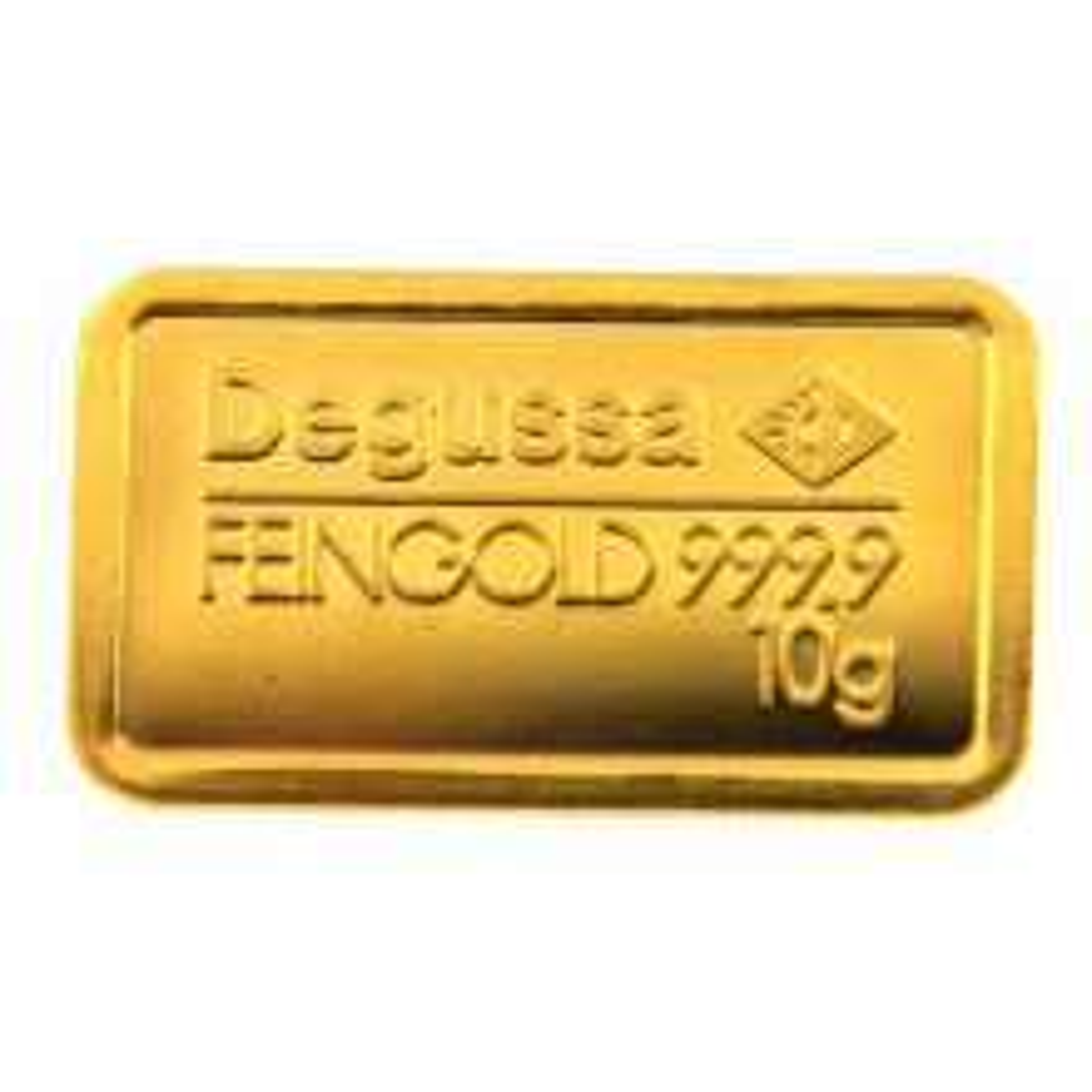 10 Gram goudbaar Degussa