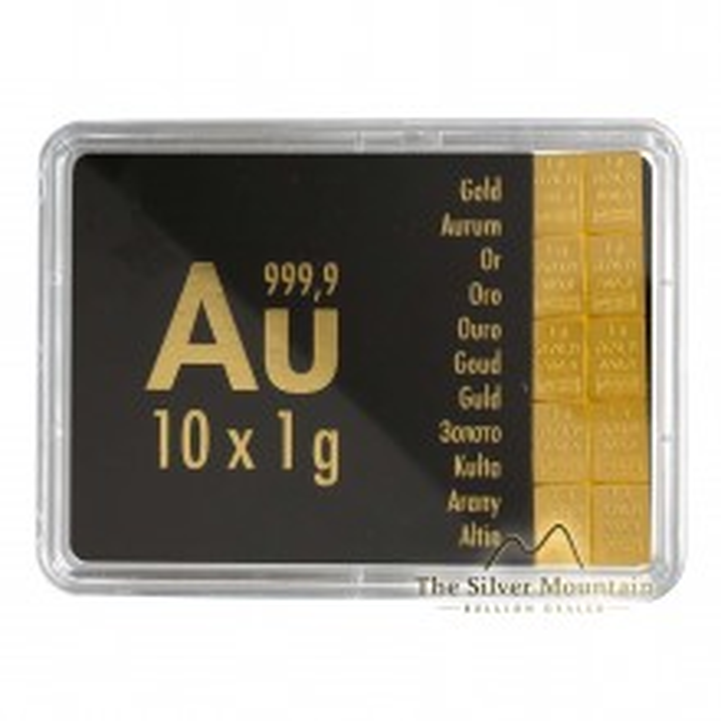 10x 1 gram gouden CombiBar