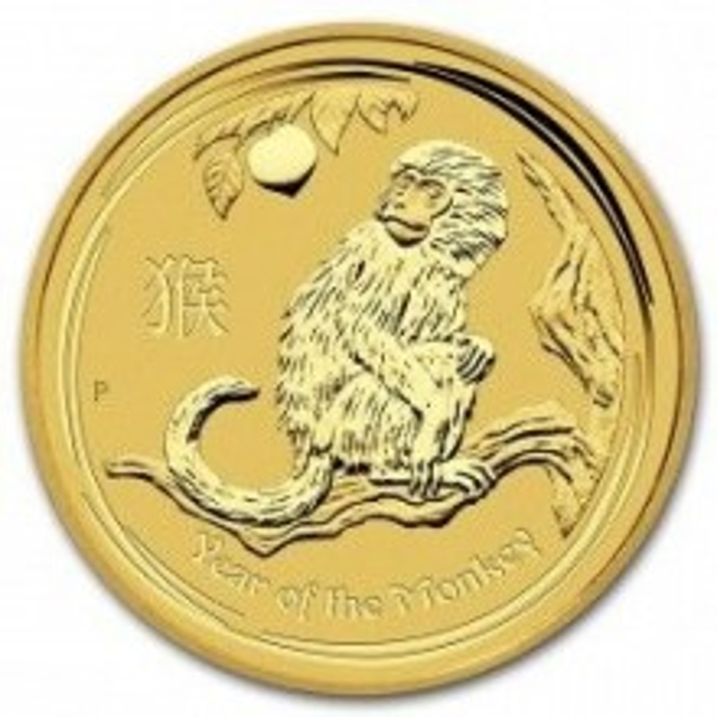 1/20 Troy ounce gouden munt Lunar 2016