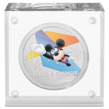 1 troy ounce zilveren munt Disney Micky Mouse - Faster and Stronger 2020 Proof