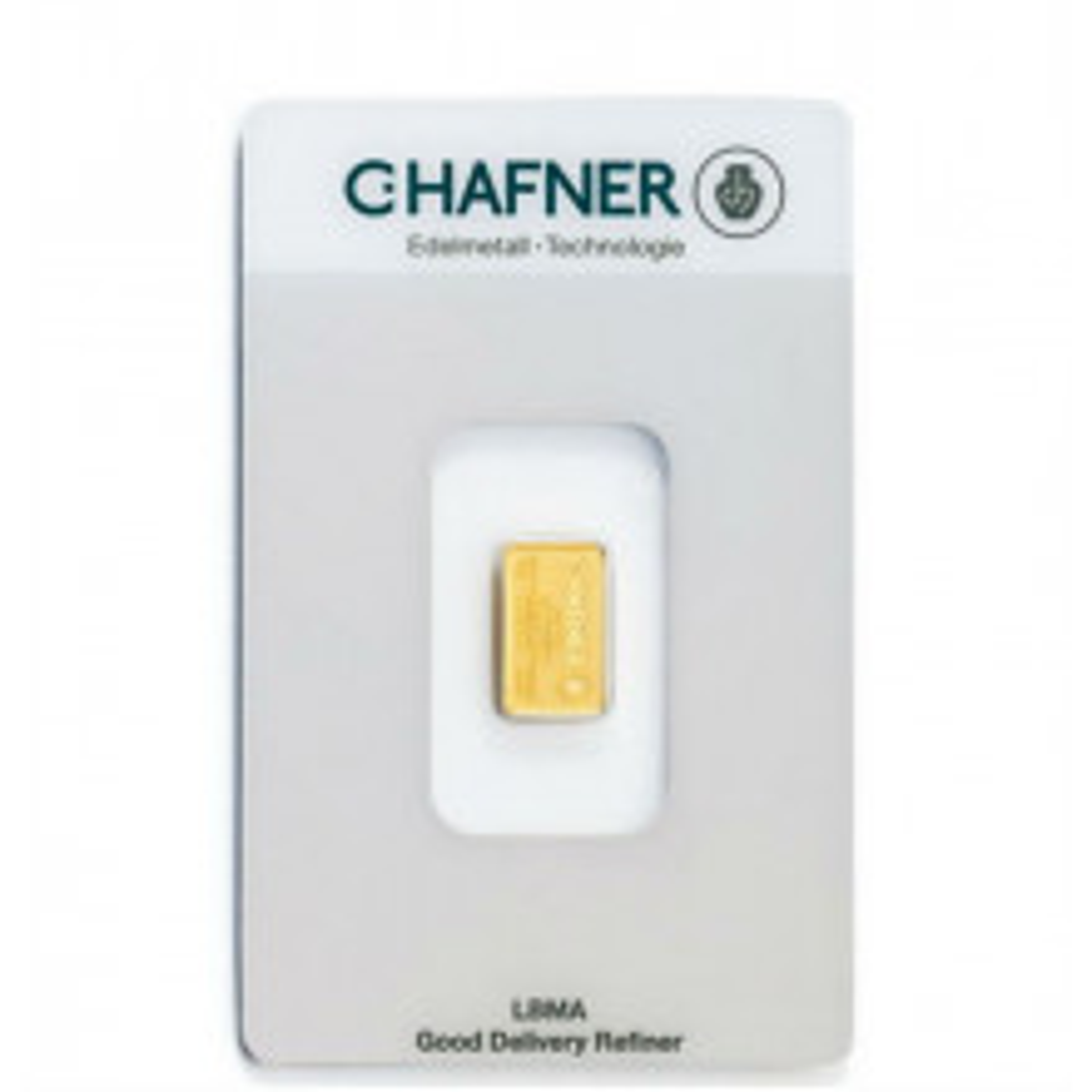 Goudbaar 2 gram C. Hafner