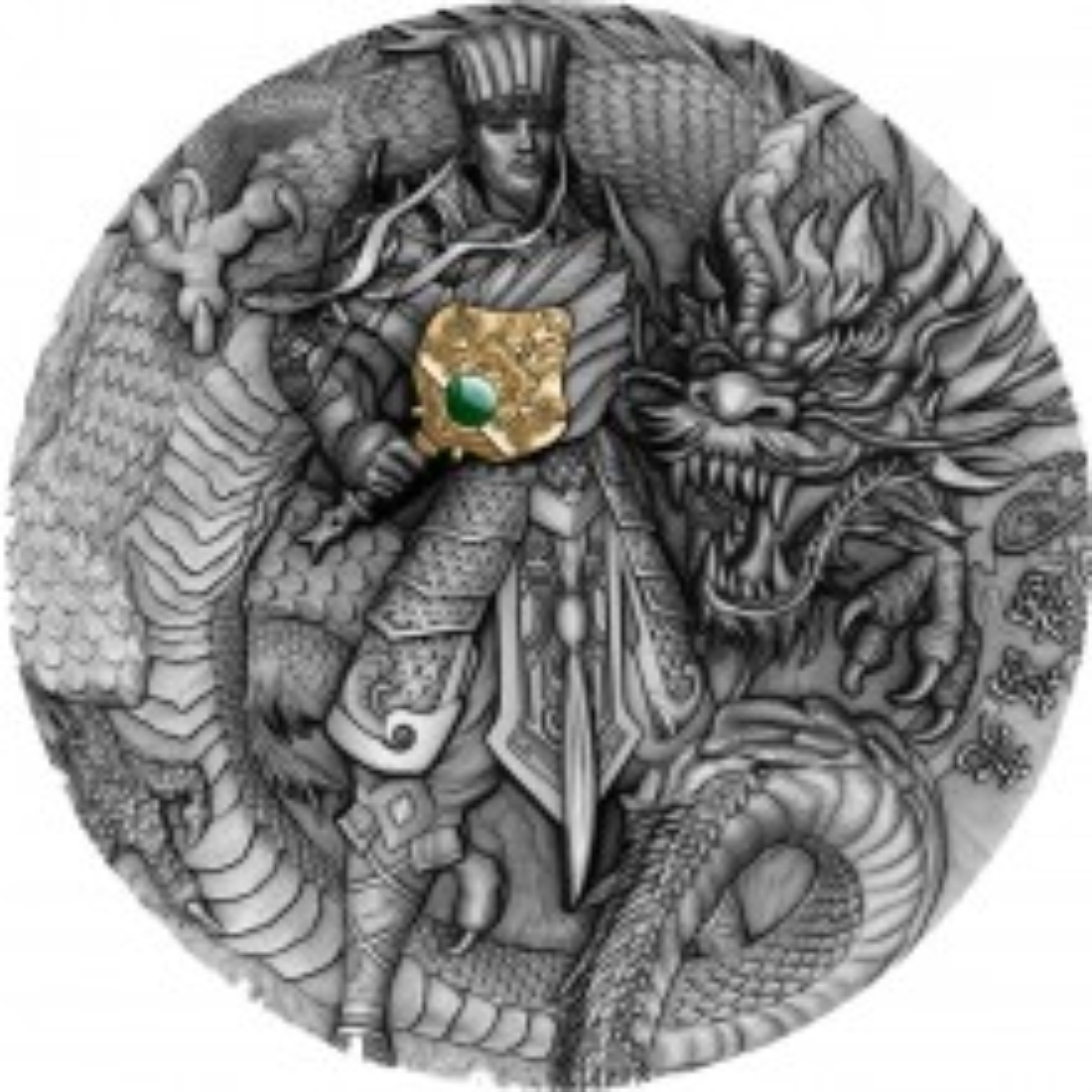 2 troy ounce zilveren munt Zhuge Liang