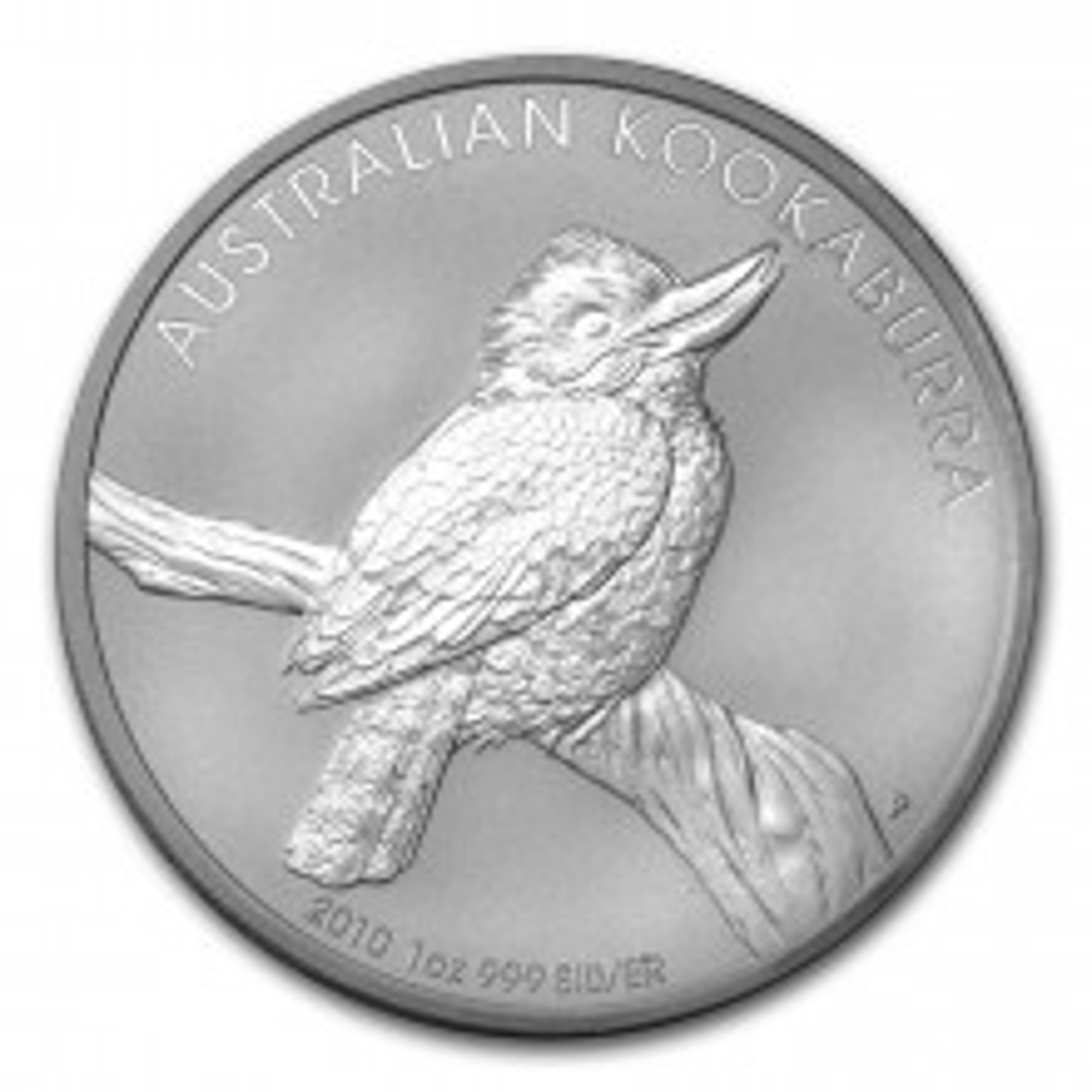 1 Troy ounce zilver munt Kookaburra 2010