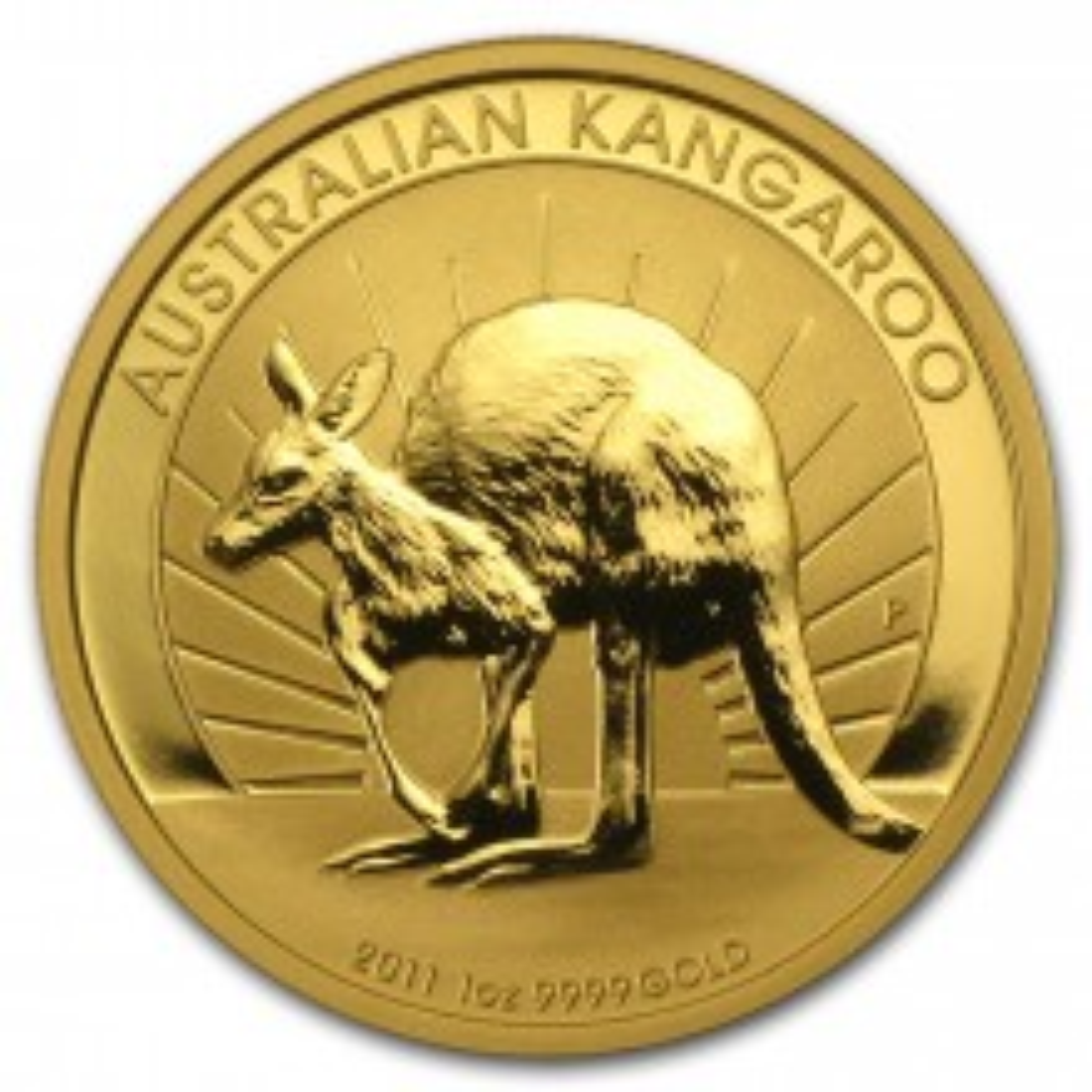 1/10 troy ounce gouden Kangaroo munt 2011