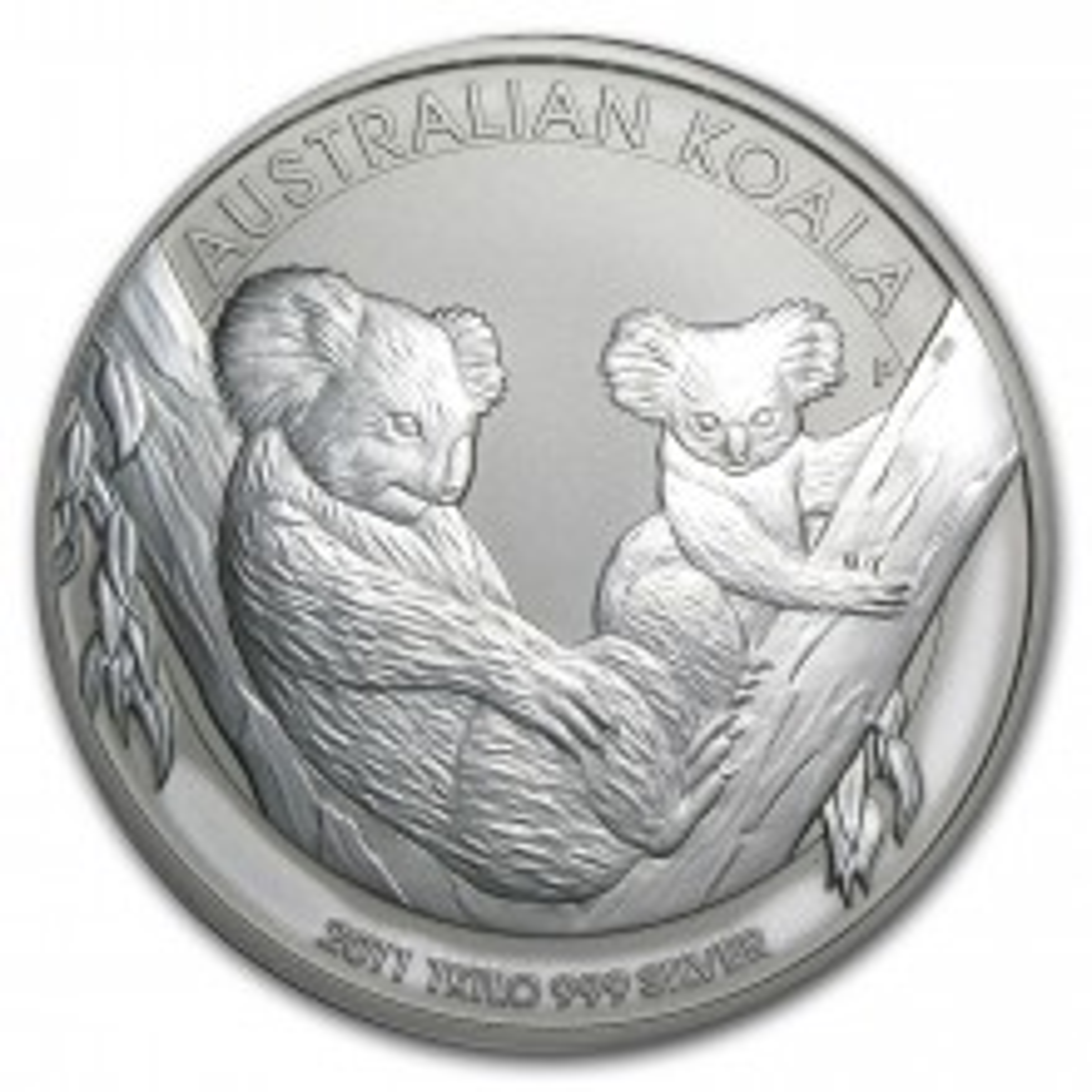 1 Kilo zilveren Koala munt 2011