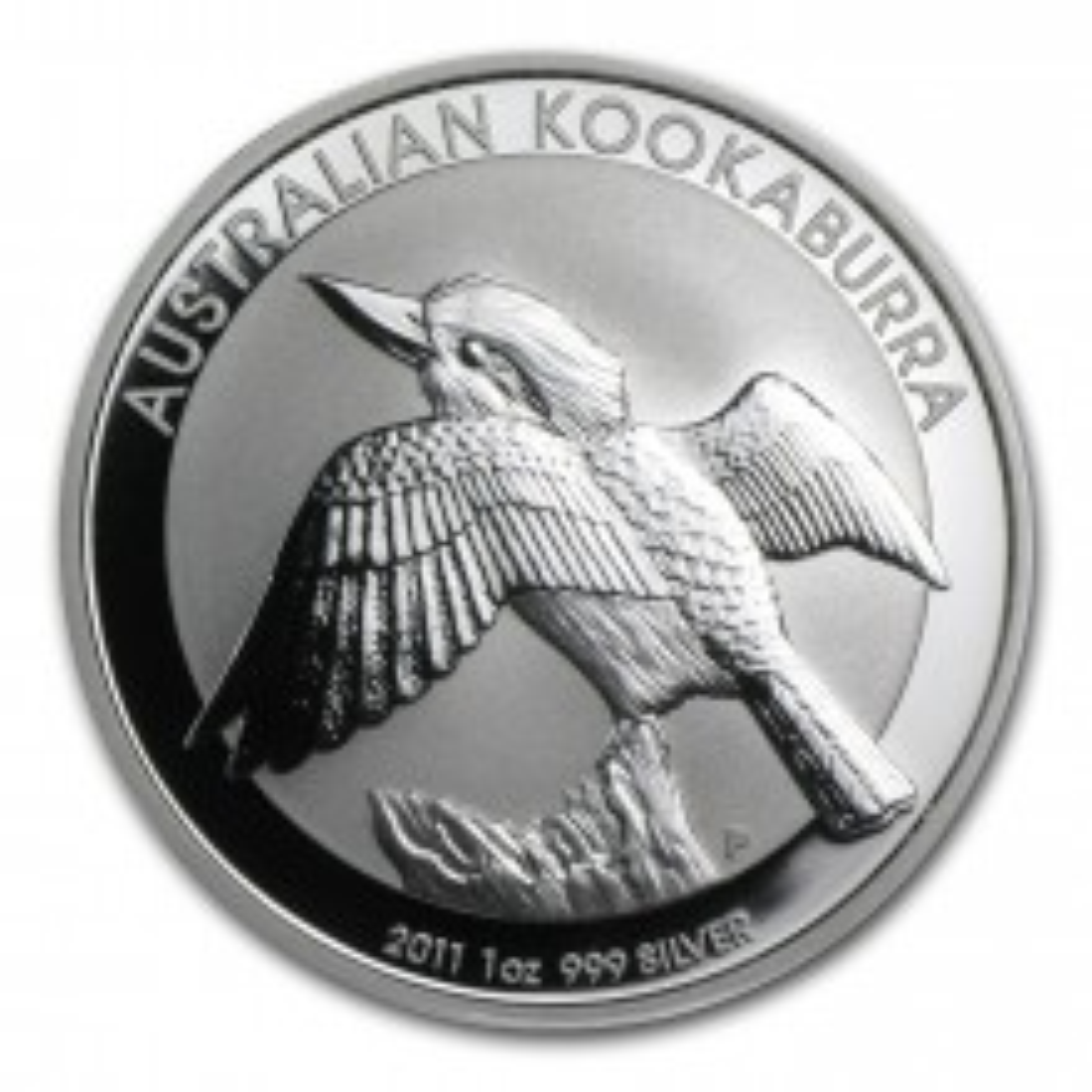 1 troy ounce zilver munt Kookaburra 2011