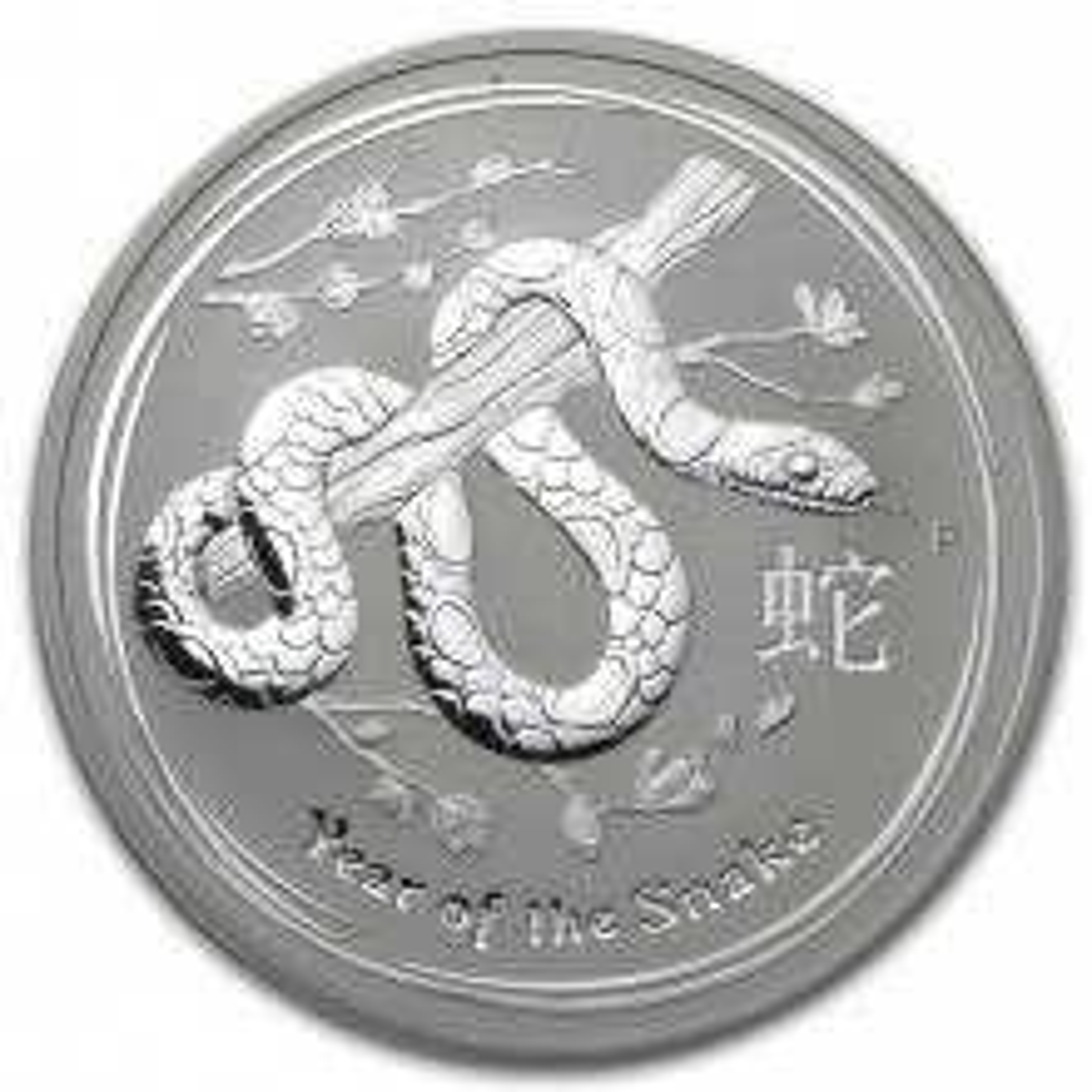 1 troy ounce zilver Lunar munt 2013