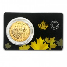 1 troy ounce gouden Howling Wolf 2014 munt