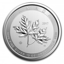 1 Troy ounce zilveren Maple Leaf munt 2016