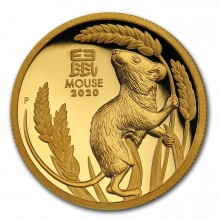 1 Troy ounce gouden munt Lunar 2020 Proof