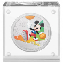 1 troy ounce zilveren munt Disney Mickey Mouse - Aim High 2020 Proof