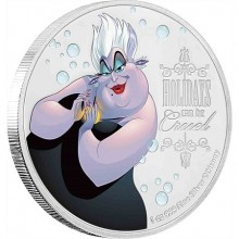 1 Troy ounce zilveren munt Disney Villains - Ursula 2019
