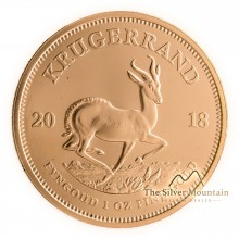 1 troy ounce gold Krugerrand coin