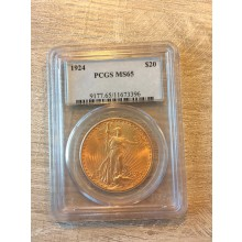$20 gouden munt Double Eagle (St. Gaudens) MS mint State