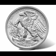1 Troy ounce palladium munt American Eagle 2017