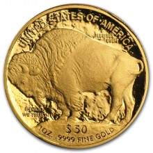 1 Troy ounce gouden munt Buffalo proof 2006