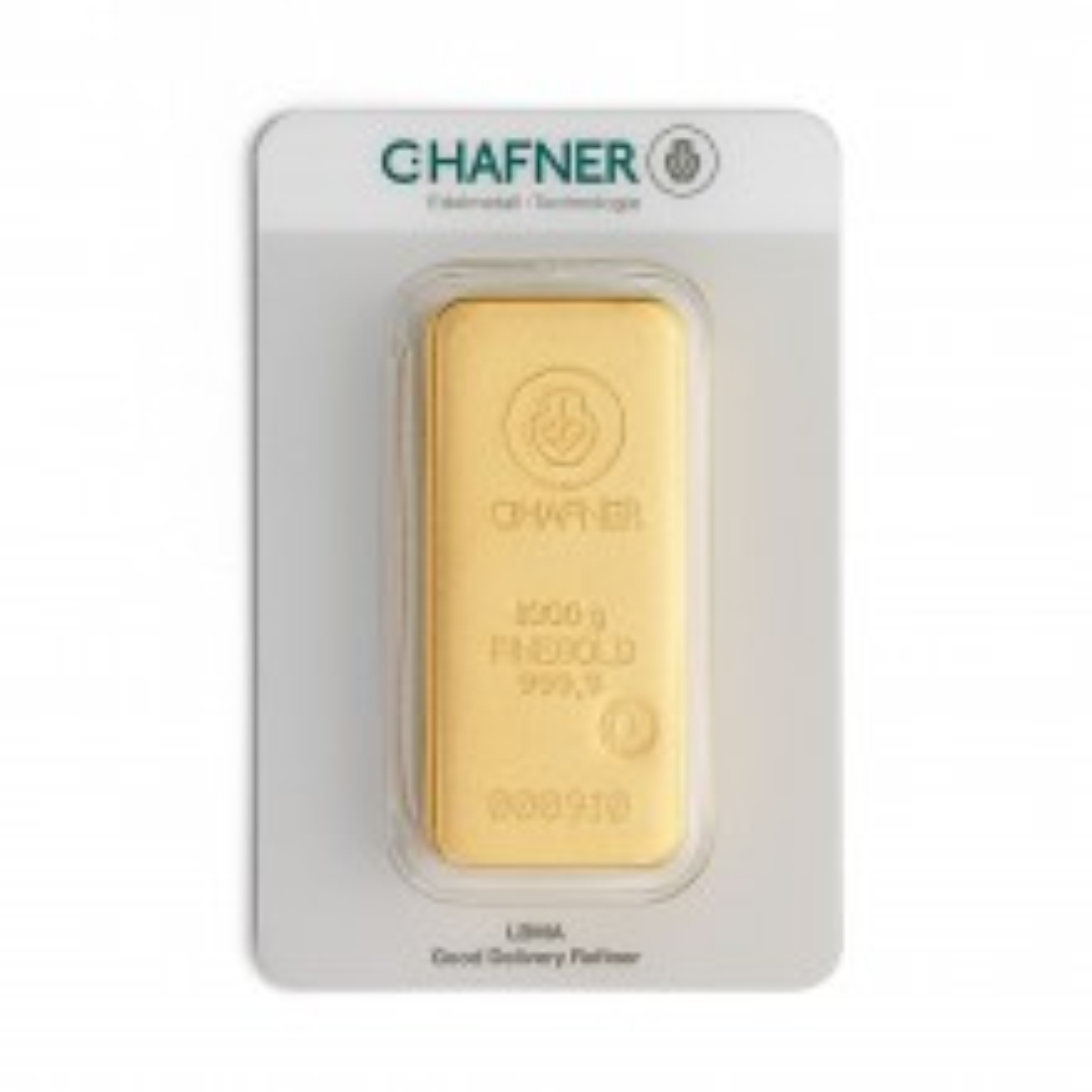 Goudbaar 1 kilogram C. Hafner