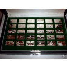 Gemstones of the World - Franklin Mint set zilver