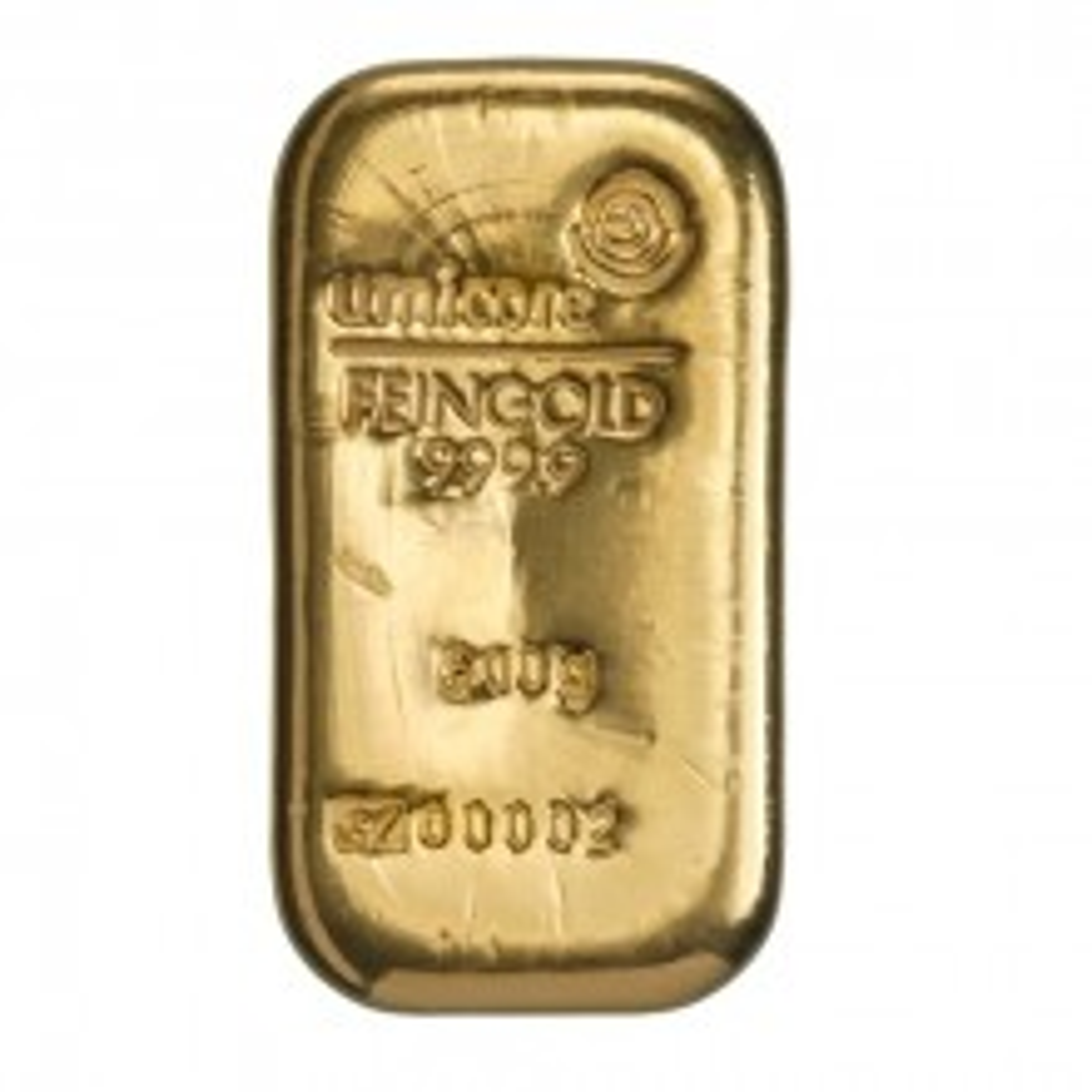 Goudbaar 500 gram Umicore