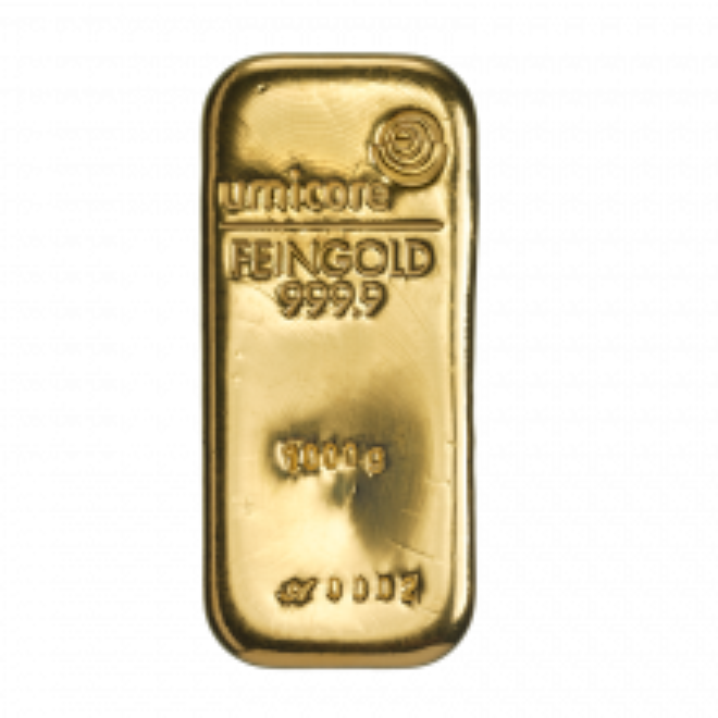 1 Kilo goudbaar Umicore