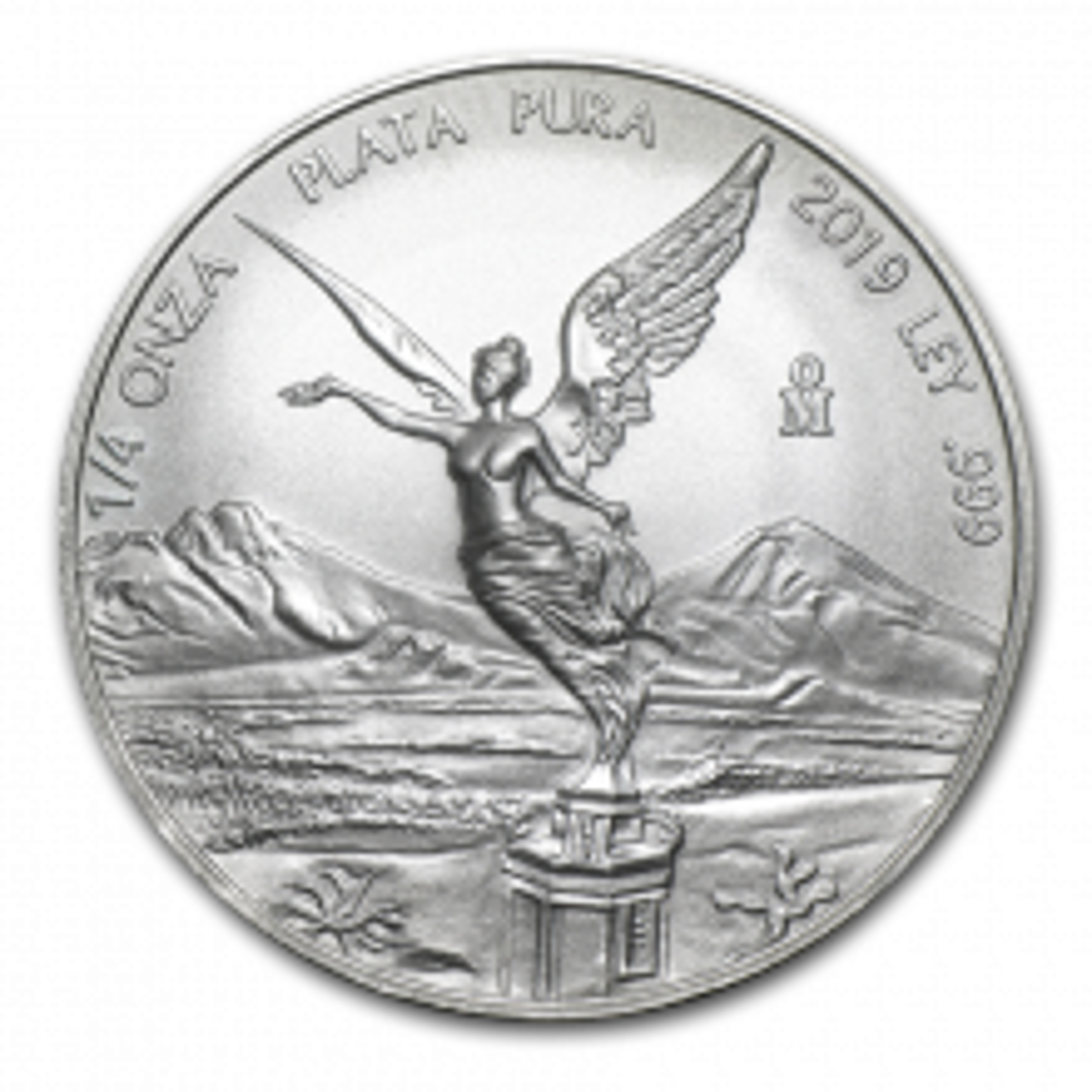 1/4 Troy ounce zilveren munt Mexican Libertad 2019