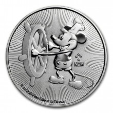 1 Troy ounce zilveren Mickey Mouse munt 2017