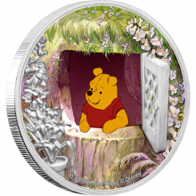 1 troy ounce zilveren munt Disney Winnie de Poeh 2020 - Proof